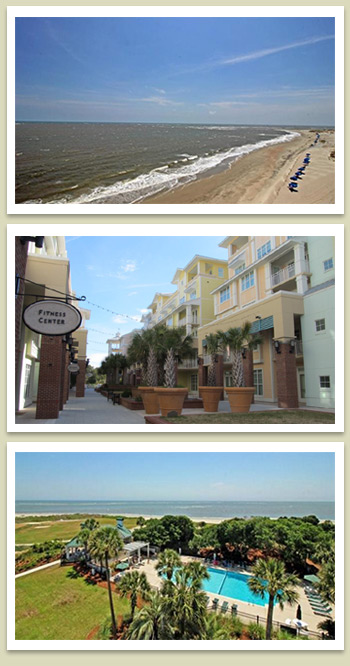 Wild Dunes, Isle of Palms photos. The beach. The Village. A refreshing pool for seaside swimming.